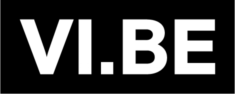 VI.BE logo white